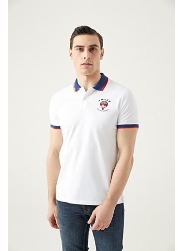Tween Nakışlı T-Shirt Beyaz